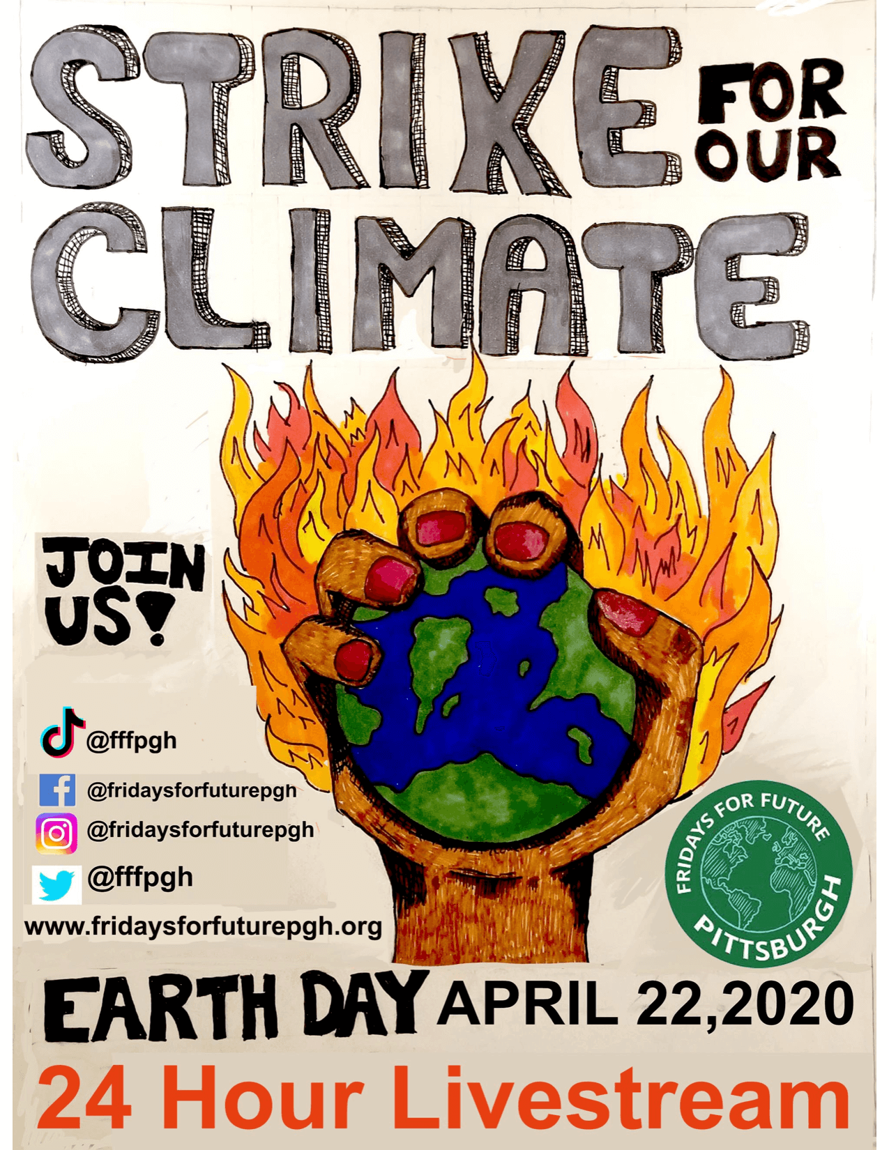 Youth Climate Strike Graphic